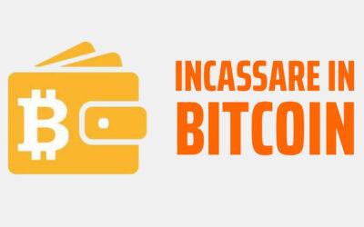 Incassare in Bitcoin
